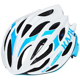 Kask Mojito16 Cykelhjälm vit/turkos